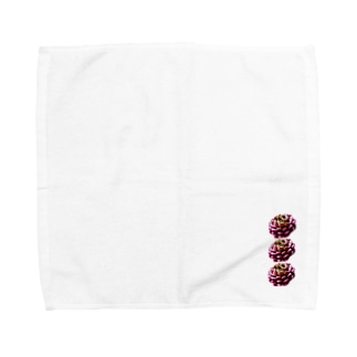 ピンクルルビー Towel handkerchiefs