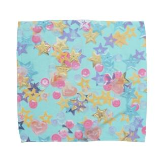きらきら Towel handkerchiefs