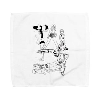 ラフ Towel Handkerchief