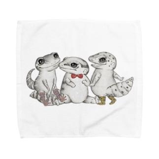 Reptiles MIKAERU Towel handkerchiefs