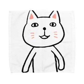 にゃーんさん Towel handkerchiefs