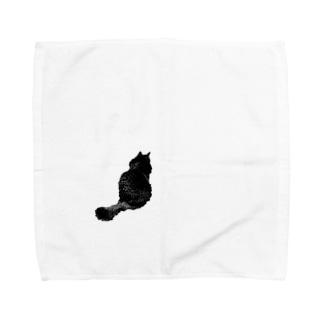 シルエットマロ Towel handkerchiefs