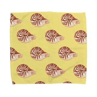 オウムガイの大群 Towel handkerchiefs