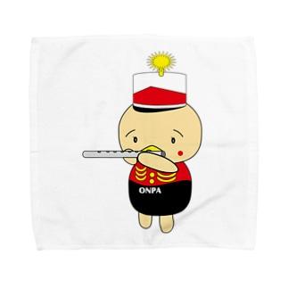 オンパ フルート Towel handkerchiefs