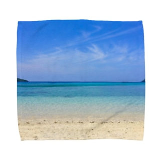 secret blue Towel handkerchiefs