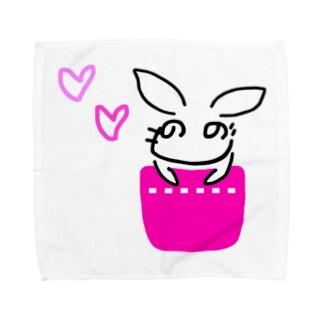 へのへの うさぎ Towel Handkerchief