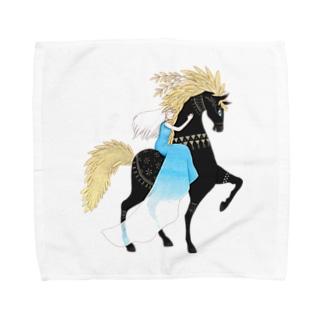 アラブレとシズメリ Towel handkerchiefs