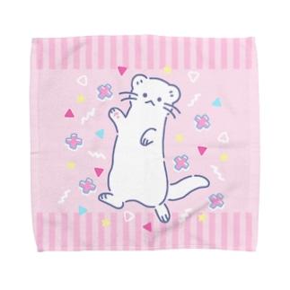 80'sファンシー系いたち Towel handkerchiefs