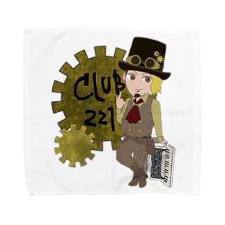 club221 オフィシャルグッズ Towel handkerchiefs
