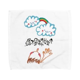 書〜空〜 Towel handkerchiefs