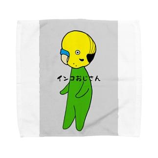 インコおじさんA Towel handkerchiefs