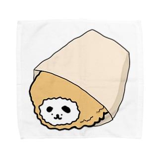 揚げイーヌ(コロッケ〜) Towel handkerchiefs