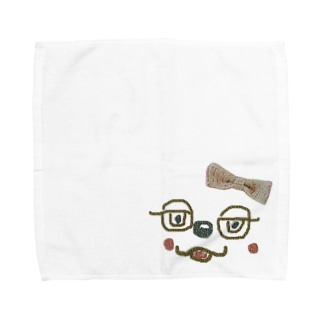 lifejourneycolorfulのどうぶつ Towel handkerchiefs