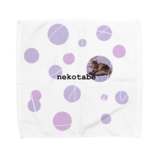 ねこだま Towel handkerchiefs
