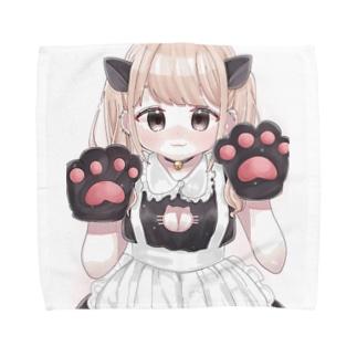 メイドちゃん Towel handkerchiefs
