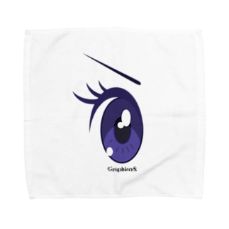 Cartoon Eye Towel handkerchiefs