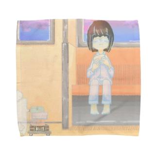 ユウレイのハンカチ Towel handkerchiefs