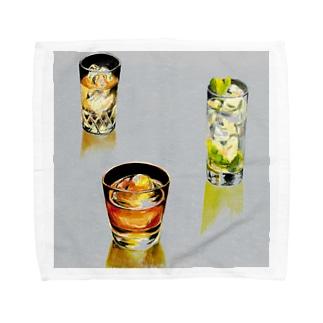 ロックで Towel handkerchiefs