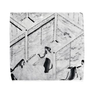 鎌倉時代白描絵巻ぐっず Towel handkerchiefs
