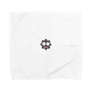 カクカク超人はぐるまん Towel handkerchiefs
