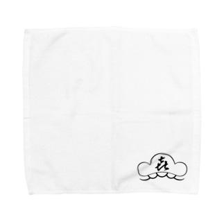 松㐂ロゴ Towel handkerchiefs