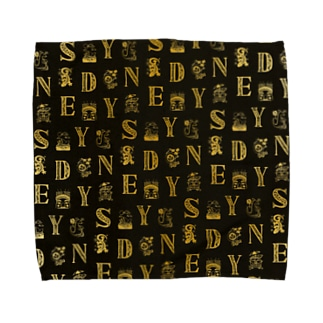 Cities in the World - Sydney (Vintage Gold)  Towel handkerchiefs