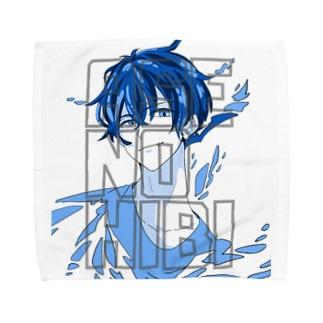 汗の日々 × テオくん Towel handkerchiefs