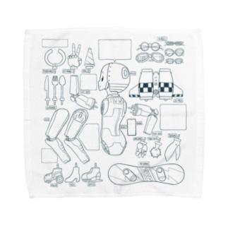 アルミ女子の支度部屋 Towel handkerchiefs