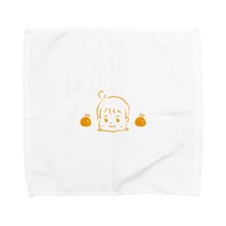 みかんちゃん Towel handkerchiefs