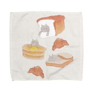 パンとブリショ Towel handkerchiefs