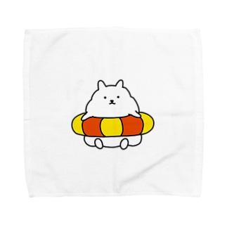 うきわのふわたろう Towel handkerchiefs