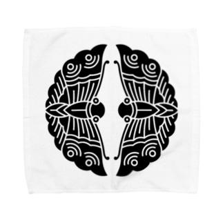大谷刑部吉継(対い蝶) Towel handkerchiefs