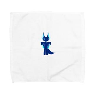 かわいいかいじゅう Towel handkerchiefs