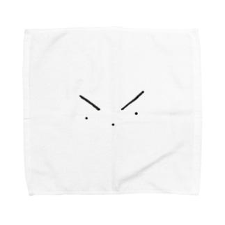 目、鼻、口。 Towel handkerchiefs
