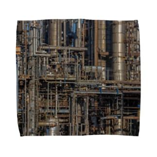 配管工場 Towel handkerchiefs