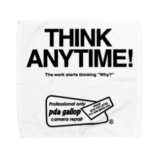 THINK ANY TIME! GOODS Towel handkerchiefs