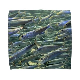 群れ Towel handkerchiefs