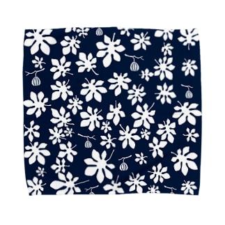 シンプルいちじくの木 Towel handkerchiefs