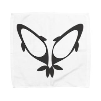 シャチ Towel handkerchiefs
