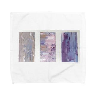 Oil painted object  Towel handkerchiefs