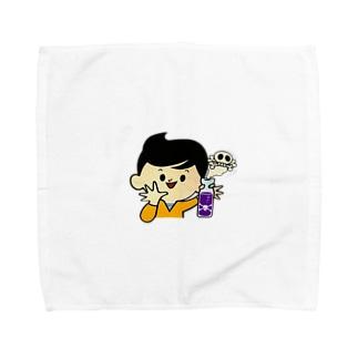 どく、飲んどく? Towel handkerchiefs
