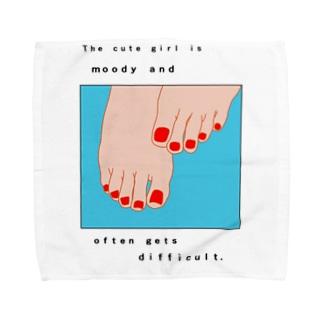 TUMASAKI メッセージあり Towel handkerchiefs
