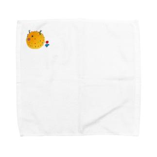 ハリセンボン様 Towel handkerchiefs