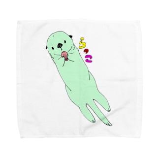 らっこさん Towel handkerchiefs