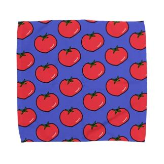 トマト柄 Towel handkerchiefs