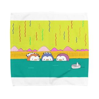ペンギン温泉会 Towel handkerchiefs