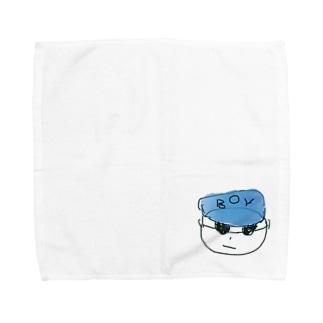 リュクハウスの中の人 Towel handkerchiefs