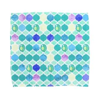 ミジンコ×モロッカン Towel handkerchiefs