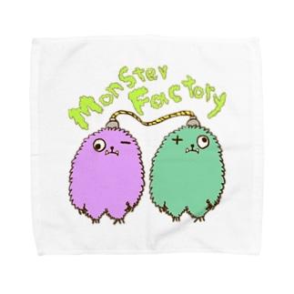 モンスター工場🏭 ゼロ Towel handkerchiefs