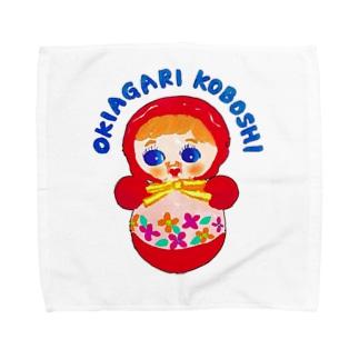 OKIAGARI KOBOSHI Towel handkerchiefs
